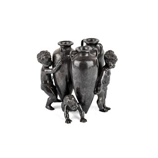 Neoclassical Style Bronze Sculpture