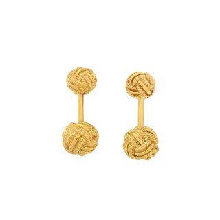 Tiffany & Co. Schlumberger 18K Cufflinks