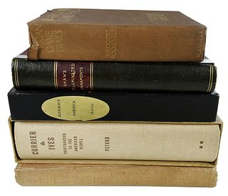 Assorted Group of Five Books, Various Subjects