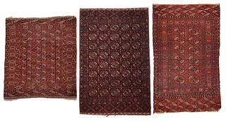 Three Turkmen Rugs
