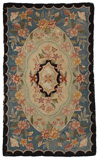 Small Hand Hooked Rug