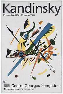 Wassily Kandinsky Exhibition Poster