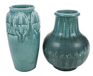 Two Art Deco Rookwood Vases