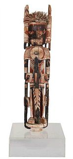 New Ireland Malangan Carved Ceremonial Figure