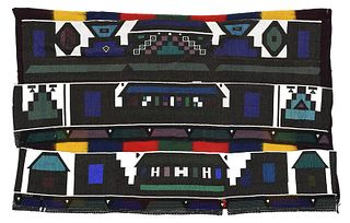 South African Ndebele Tribe Beaded Cloak