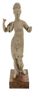 A Roman Terracotta Figure of Venus