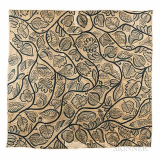 Blackwork Bedcover