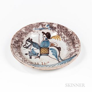 Small Faience Plate