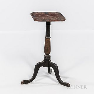 Painted Candlestand