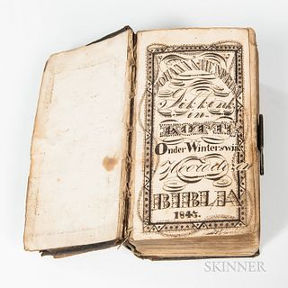Dutch Bible with Fraktur
