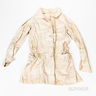 White Linen Frock Coat
