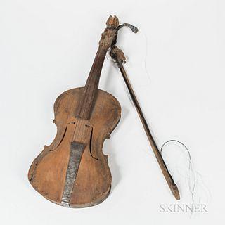 Folk Art Fiddle