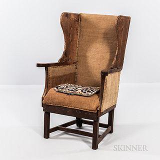 Upholstered Make-do Easy Chair