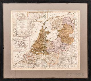 Belgii Pars Septentrionalis Communi Nominee Vulgo Hollandia