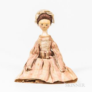 18th Century Queen Anne Doll
