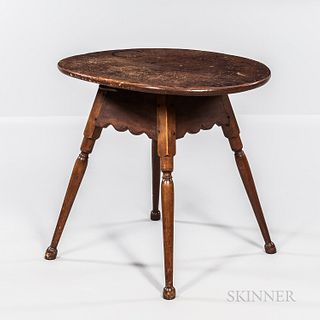 Pine and Maple Tea Table