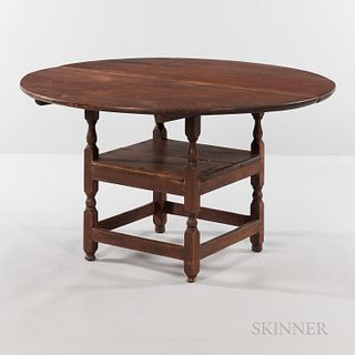 Maple and Pine Chair Table