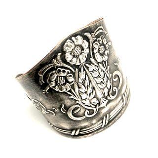 Ardsley Silver on Copper Cuff Bracelet