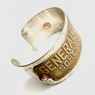 General Electric Cuff Bracelet