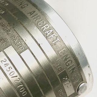 Aircraft Aluminum Cuff Bracelet