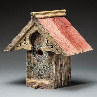 English Cottage Birdhouse
