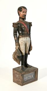 Early Carved Figure of Lafayette