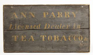 Tea & Tobacco - Ann Parry