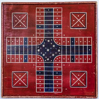 Parcheesi - Checkers Gameboard