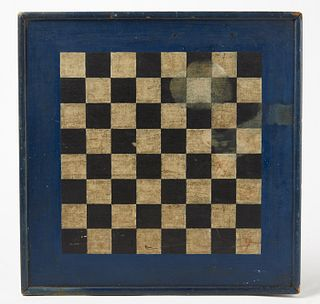 Mill Game - Checkers Gameboard
