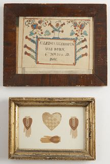 Heart in Hand Cutouts plus Birth Certificate