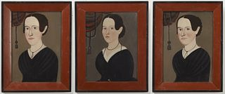 The Hatch Sisters Portraits - George Hartwell