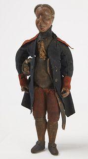 Important Carved George Washington Figure