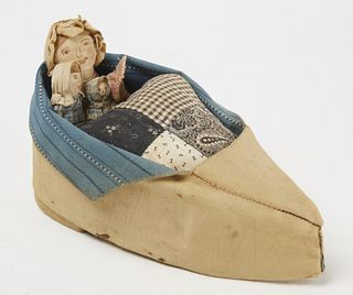 Old Woman in the Shoe