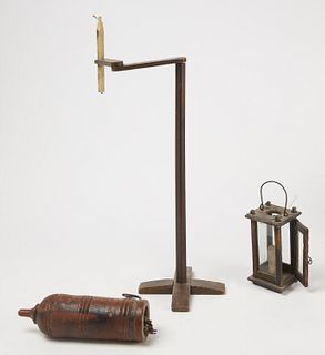 Three Early Lighting Items