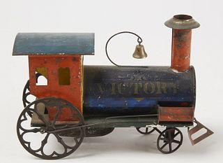 Painted Ives Tin VICTORY Train
