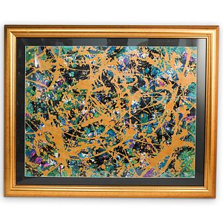 After Jackson Pollock Painting