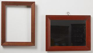 Two Painted Frames
