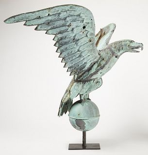 Fine Early Large Scale Eagle Weathervane