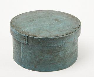 Good Pantry Box in Original Blue Paint