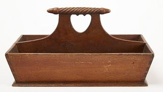 Cutlery Tray with Heart Cut Out