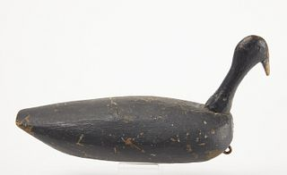 Early Folk Art Root Head Decoy
