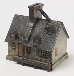 "Rare ""Old Quebec Cast Iron Bank - 1908"
