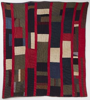 African-American quilt, circa 1920