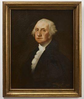 Fine Painting of George Washington