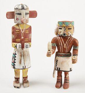 Two Kachina Dolls