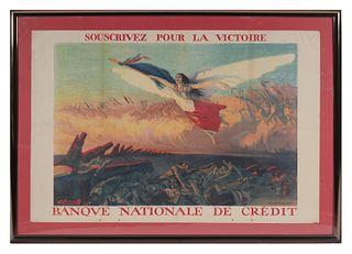 M. RICHARD-GUTZ, 1916 WWI French Poster