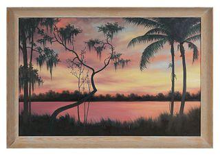LORENZ GRIFFITH, Florida Sunset, O/B