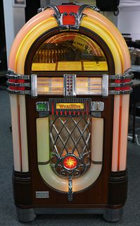 WURLITZER OMT 1015 Bubble Light Jukebox