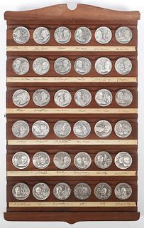 Rare WITTNAUER Mint Presidential Medallion Set
