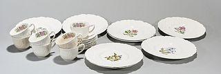 Group of Royal Cauldron Porcelains